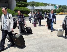 Chuyến tàu đóng kín cửa sổ đưa phóng viên quốc tế tới bãi thử hạt nhân Triều Tiên