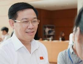 Phó Thủ tướng Vương Đình Huệ lần đầu trả lời chất vấn trước Quốc hội