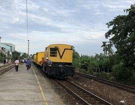 Vụ 2 tàu tông nhau: Thông tuyến đường sắt sau 1 ngày gián đoạn
