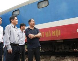 Bộ trưởng GTVT kiểm tra khắc phục hậu quả sự cố tại ga Núi Thành