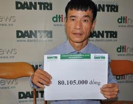 Bé Minh Anh bị viêm não được bạn đọc giúp đỡ hơn 80 triệu đồng