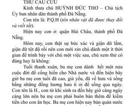 """Một học sinh gửi tâm thư tới Chủ tịch Đà Nẵng tố cán bộ đô thị """"vòi tiền"""""""