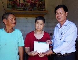 Gia đình chị Thảo được nhận hơn 100 triệu đồng từ các tấm lòng hảo tâm
