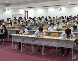 Hơn 6.200 thí sinh dự kỳ thi kiểm tra năng lực vào trường ĐH Quốc tế
