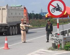 Bắc Giang: Chặn đứng hiểm họa xe máy luồn lách giữa các làn đường cao tốc