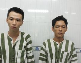 2 tên cướp dùng dao chống trả công an khi bị truy đuổi