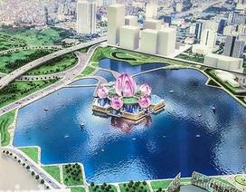 """Dừng xây nhà hát Hoa Sen """"lớn nhất Thủ đô"""""""