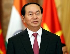 Chủ tịch nước Trần Đại Quang thăm chính thức Nhật Bản