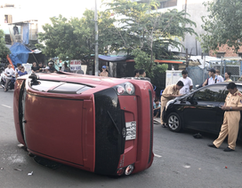 Thiếu niên 17 tuổi điều khiển ô tô gây tai nạn rồi bỏ chạy