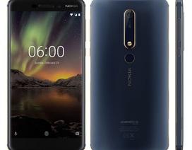 Nokia 6 mới trình làng phiên bản Blue Gold: Nâng cấp Ram & Bộ nhớ trong cao hơn