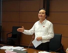 """Bộ trưởng Phùng Xuân Nhạ giải trình thêm về """"giá dịch vụ đào tạo"""""""