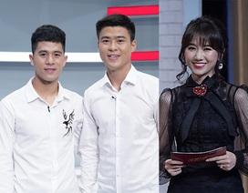 "Hai tuyển thủ U23 Việt Nam bị Hari Won chất vấn chuyện ""yêu nhau"""