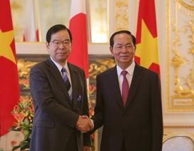 Chủ tịch nước: Quan hệ Việt Nam - Nhật Bản đang ở giai đoạn tốt đẹp nhất