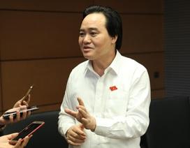 """Bộ trưởng Phùng Xuân Nhạ nói về đề xuất dùng tên """"giá dịch vụ đào tạo"""""""
