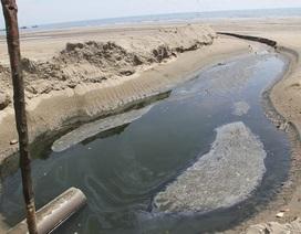Vụ hồ tôm xả 1.000 m3 nước thải ra biển: Khắc phục kiểu đối phó!