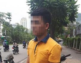 Hà Nội: Người lái xe ôm truy bắt tên cướp như phim hành động trên phố