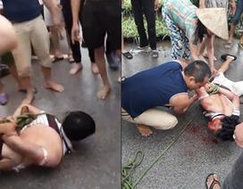 Người đàn ông bị người dân vây đánh do nghi bắt cóc trẻ em là kẻ cắp