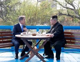 Ông Kim Jong-un có thể đã kể chuyện gia đình với Tổng thống Hàn Quốc