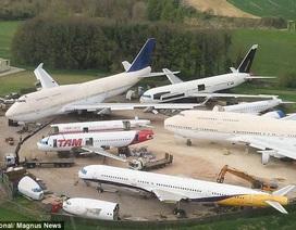 """Bên trong """"nghĩa địa"""" máy bay lớn nhất châu Âu"""
