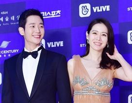 """""""Chị đẹp"""" Son Ye Jin quyến rũ bên """"phi công trẻ"""" Jung Hae In"""