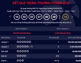 """Giải Jackpot 1 """"nổ"""": Người trúng số kỷ lục gần 304 tỷ đồng ở Hà Nội"""