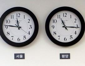 Triều Tiên chỉnh múi giờ đồng nhất với Hàn Quốc