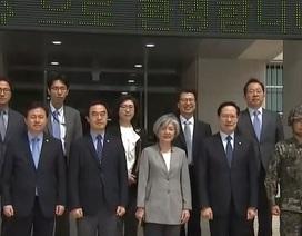 Lý do 4 bộ trưởng Hàn Quốc đồng loạt tới đảo giáp Triều Tiên