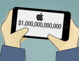 """Cổ phiếu tăng giá kỷ lục, Apple tiến sát mốc """"công ty ngàn tỷ đô"""""""