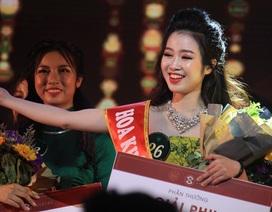 Nữ sinh ngành Truyền thông Quốc tế trở thành tân Hoa khôi Học viện Ngoại giao