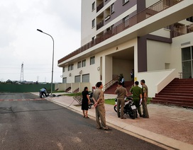 Người phụ nữ rơi từ lầu 5 chung cư xuống đất tử vong