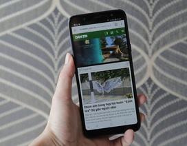 Smartphone tầm trung màn hình vô cực của Samsung có giá từ 6,9 triệu đồng