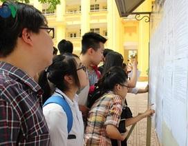 Số lượng thí sinh thi THPT Quốc gia năm 2018 xét tuyển vào các tổ hợp