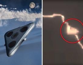 Sốc khi thấy UFO người ngoài hành tinh hút năng lượng từ tia chớp