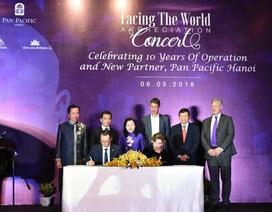 Pan Pacific Hà Nội cùng Facing The World hỗ trợ trẻ em bị dị tật sọ mặt