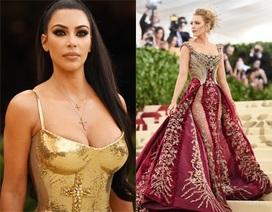 Kim Kardashian, Blake Lively, Jennifer Lopez lọt Top sao mặc đẹp trên thảm đỏ MET gala