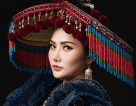 """Chiêm ngưỡng """"Sơn nữ H'Mông"""" 30kg được mang đến Nữ hoàng Du lịch Quốc tế 2018"""