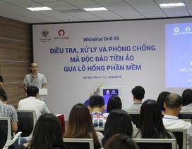 Việt Nam diễn tập phòng chống mã độc đào tiền ảo