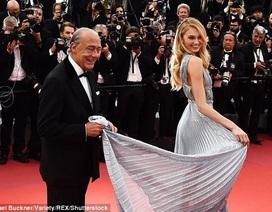 """""""Thiên thần"""" của Victoria's Secret đẹp """"như mộng"""" trên thảm đỏ Cannes"""