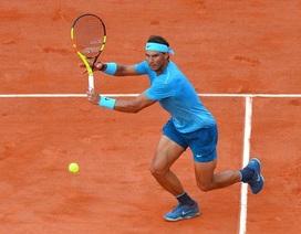 Roland Garros: Nadal thăng hoa mạnh mẽ sau trận đầu chệch choạc