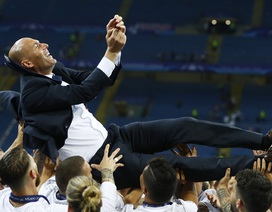 Phản ứng của các cầu thủ Real Madrid khi HLV Zidane bất ngờ từ chức