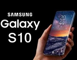 Galaxy S10 có cảm biến vân tay trên màn hình, đo được huyết áp và nhịp tim