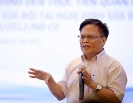 TS Nguyễn Đình Cung: Dùng từ phê bình ông nọ, ông kia, bộ này, bộ kia... rất khó