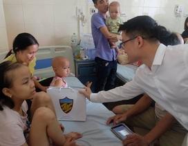 Chung tay giúp bệnh nhi nghèo bệnh viện Châm cứu
