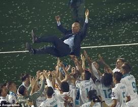 Những khoảnh khắc đáng nhớ nhất của HLV Zidane ở Real Madrid