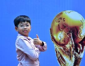 """Cậu bé Việt Nam duy nhất được """"dự"""" trận chung kết World Cup 2018 là ai?"""