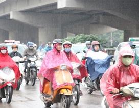 Miền Bắc mưa giông, có nơi mưa rất to