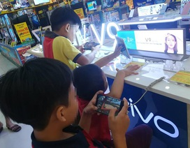 Những đứa trẻ... smart phone