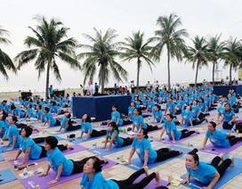 Hơn 1 nghìn người sẽ tham gia đồng diễn ngày hội quốc tế Yoga tại Việt Nam
