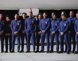 Đội tuyển Brazil được chào đón nồng nhiệt khi tới Nga