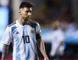 Messi lại có ý định chia tay đội tuyển Argentina